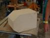 Chamfers to create the shape