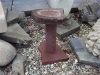 Small forest of Dean Sandstone Birdbath