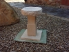 Birdbath, Portland and Tetbury limestone        