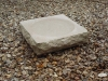 Rockery birdbath, Portland limestone       