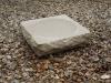 Rockery birdbath, Portland limestone
