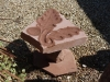 Oak leaf and acorn Forest fo Dean sandstone birdbath. Sold 360