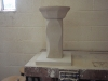 Tetbury limestone daisy bowl birdbath, commission. 650