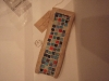 Necklace tray, tetbury limestone with mosaics