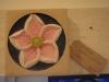 Tetbury limestone flower panel