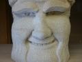Mischevious monk, tetbury limestone