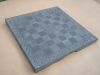 Welsh slate Chessboard, 14 inches square. 850.