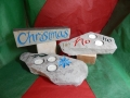 Tealight holders and Christmassy things, prices start at £55.