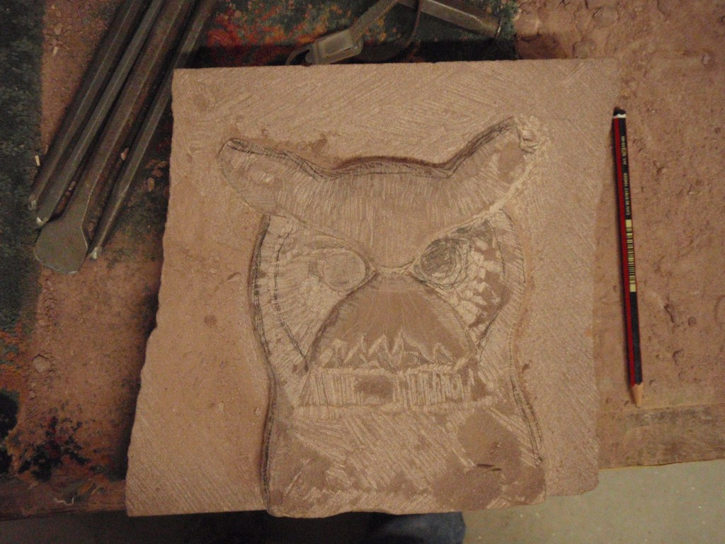 Art woodworking how i relief carved a gangster owl complete