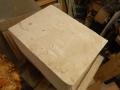 Large piece of Lavoux limestone for my sculpture.