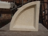 Fan bowl, tetbury limestone, 38
