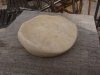 Soap dish, oiled Tetbury limestone. 38