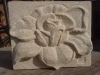 Rose flower panel, 4inches x 3inches £55