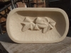 Ivy Leaf Bowl, Tetbury Limestone, 68