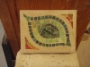 Mosaic wall plaque. 7.5x6x1.5