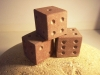Small Forest of Dean SAndstone Dice, about 25mm, £12 each, only 2 left.
