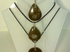 Goniatite fossils (from Madagascar, made into pendants. Prices start from £16