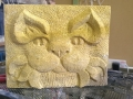 Bath Stone Cat, available