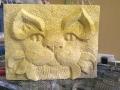Bath Stone Cat, available