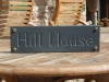 House name,Welsh Slate, Unpainted