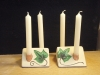 Large ivy leaves candlestick £48.50