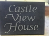 Unpainted Welsh Slate house name