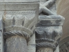 Capitals on an archway-very similar to those at Canterbury Cathedral