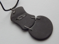 Welsh slate and sterling silver pendant