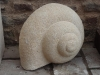 Snail, Tetbury limestone. Sold