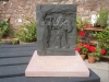 Cornish slate freeminer with Forest of Dean sandstone base.