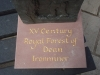 Forest of Dean base with gilded lettering.
