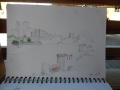 Sketch of Dover castle.1JPG