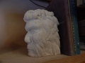 Face in the clouds bookend. Tetburylimestone