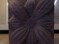 Flower panel. St Bees Sandstone