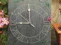 Leafy clock