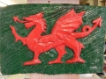 Red/Green Welsh Dragon