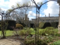 White Garden where Katherine Parr's chapel once stood