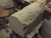 Shaping the stone