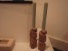 Candlesticks, Forest of Dean Red sandstone