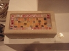 Mosaic trinket box, Tetbury limestone