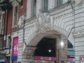beautiful carving at Victoria station, London.