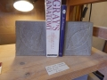 leaf and scroll bookends