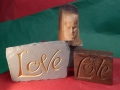 wooden face and  loves