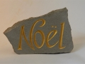 Hand carved and painted Forest of Dean sandstone. £57