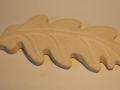 Oak leaf, hand carved French limestone. £125