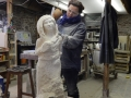Getting on with my new sculpture