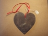 Welsh Slate heart, various sizes. Other sizes made to order.