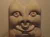 """Grotesque, Portland limestone, 3"""" square £60"""