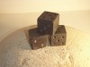 Small Welsh Slate dice, 15mm cubed. £10 each