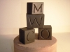 Small Welsh Slate letters, about an Inch square, £8 each